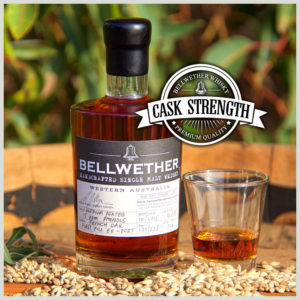 BELLWETHER WHISKY – '10th Anniversary' Cask Strength (350ml)